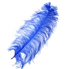 "Ostrich Wing Feathers 18-24"" Premium Qlty 1/2 Lb Royal Blue"